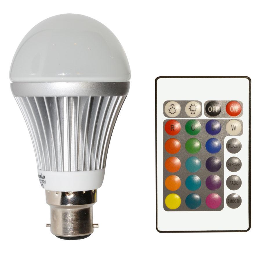 sc 1 st  Mirabella & LED GLS Colour Changing Globe   Mirabella azcodes.com