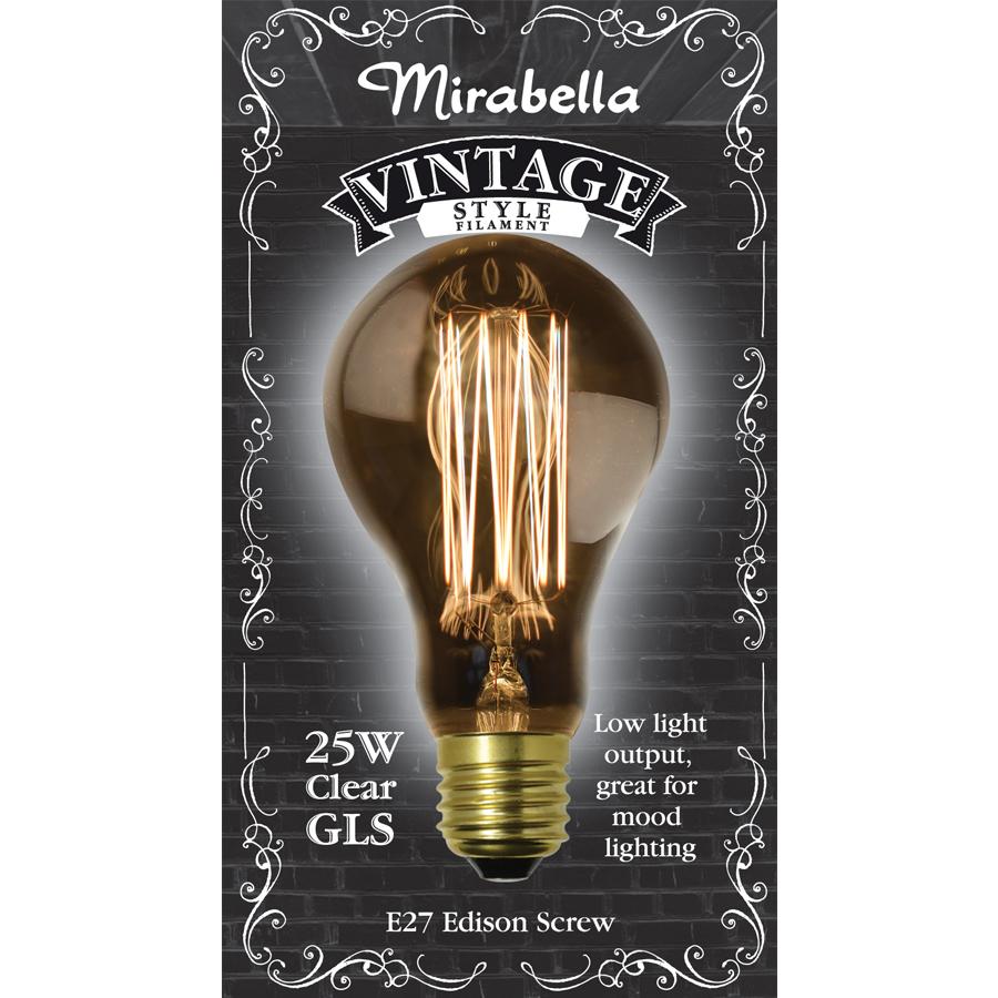 sc 1 st  Mirabella & Vintage A75 25w Clear Filament   Mirabella azcodes.com