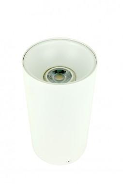 Cylinder White Ceiling Light