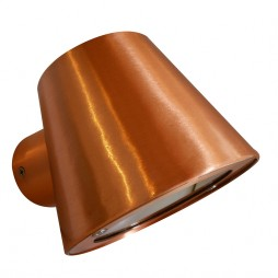 Copper outdoor light 90x90mm